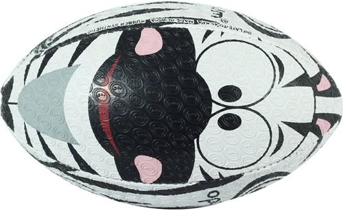 Optimum rugbybal Zebra - maat 4