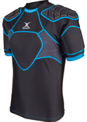 Gilbert shoulderpads Xp 300 Black/Blue 3XS