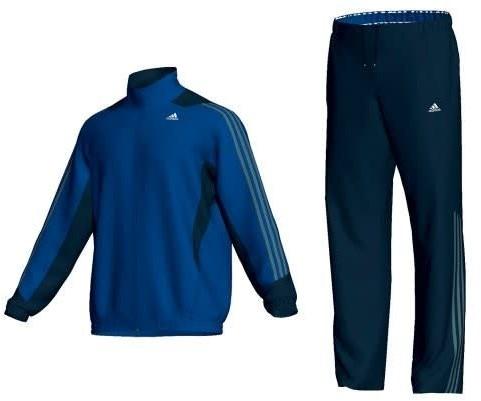 Adidas Trainingspak CLIMA365 WOVEN HEM  Blauw - S