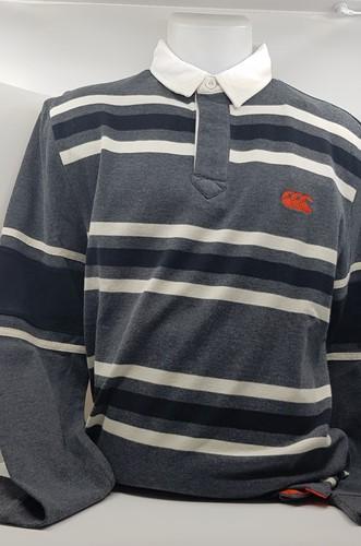 Long Sleeve Stripe Rugby Shirt Old School