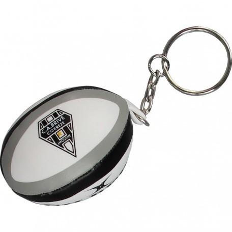 Gilbert rugbybal sleutelhanger BRIVE