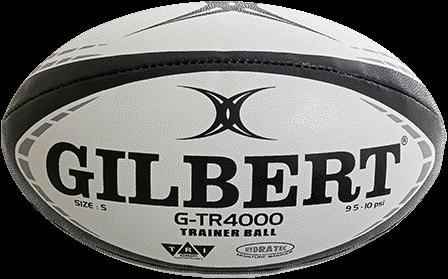 Rugbybal training G-Tr4000 zwart maat 3