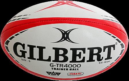 Gilbert rugbybal  G-Tr4000 Red Sz5