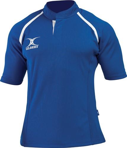 Gilbert rugbyshirt Xact Royal 2Xs