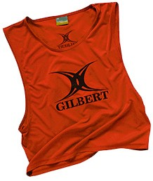 Gilbert BIB POLYESTER RED YOUTHS