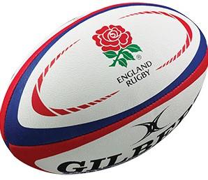 Gilbert rugbybal Replica England Midi 25 cm
