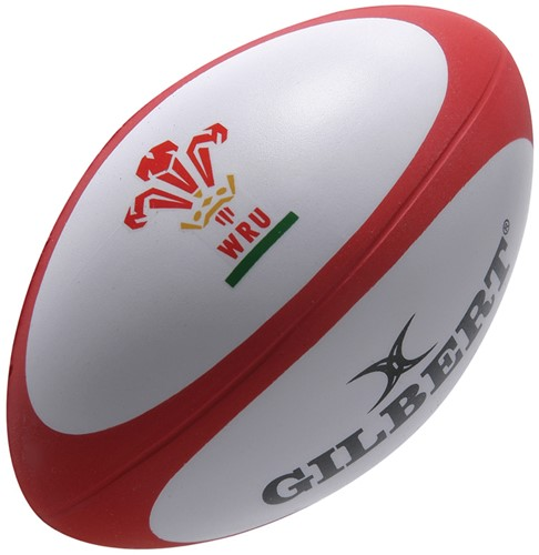 Rugbybal Stress Wales 10 cm