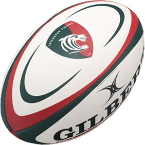 Gilbert rugbybal Replica Leicester Sz 5