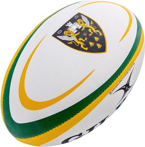 Gilbert rugbybal Supp Northampton Sz 4