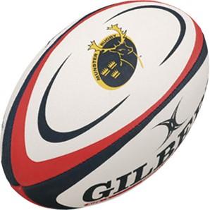 Gilbert rugbybal Supporter Munster Sz 5