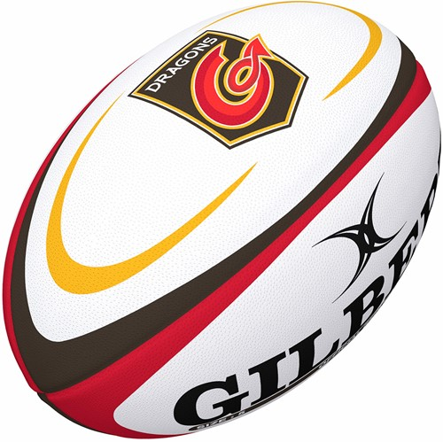 Gilbert rugbybal Supp Dragons Rugby Sz 5