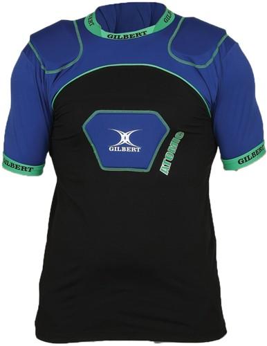 Gilbert shoulderpads Atomic V2  Blu/Blk maat 2Xl