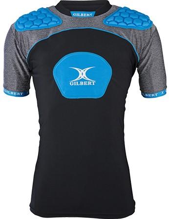 Gilbert Shoulderpads Atomic V3 Black/Blue Xl