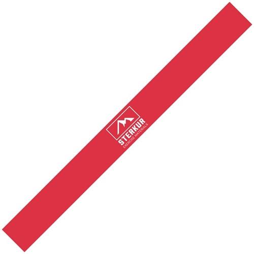 stretchbands 120 cm rood/medium weerstand