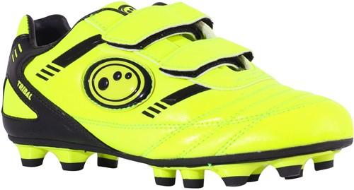 Optimum rugbyschoenen met klittebandsluiting  Geel/Zwart