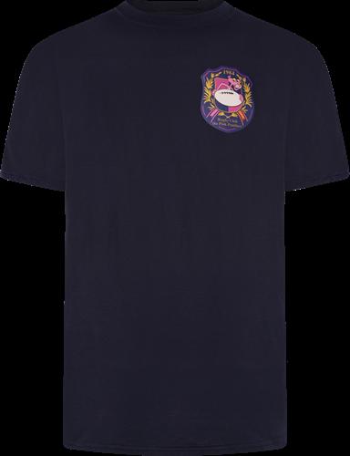 Pink Panthers T-shirt blauw -maat L