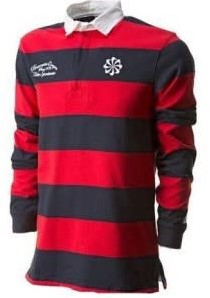nike Old School Rugby Short banners  Rood - S